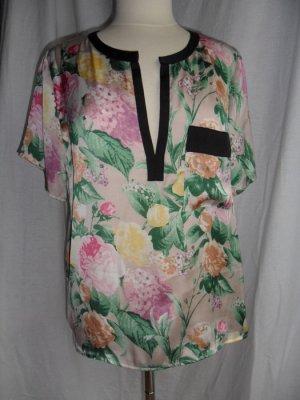 Shirt/ Bluse mit Blumenmuster