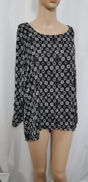 shirt bluse mit muster