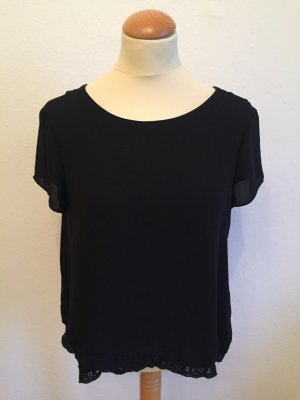 Shirt Bluse mit Rückenausschnitt von Zara