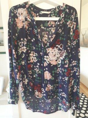 Shirt Bluse Only Gr. 40 Blumen