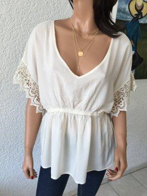 Shirt, Bluse, Schösschenbluse