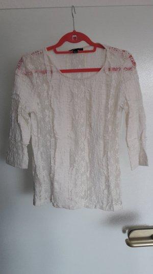 Shirt Bluse Top spitze M