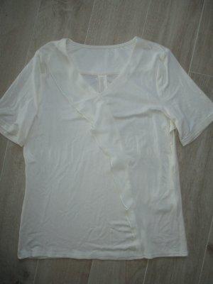 Shirt#Bluse#Volant#Glitzer