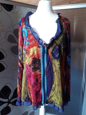 Alba Moda Veste chemise multicolore
