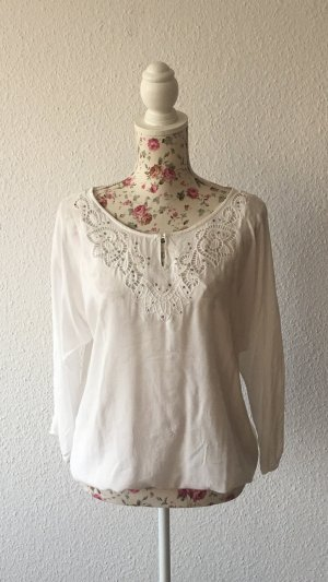 Promod Slip-over blouse wit