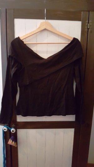 Shirt/Carmenshirt  in raffinierter Wickeloptik von H&M