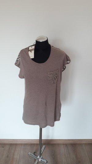 shirt cream spitze gr. xs (fällt größer aus)