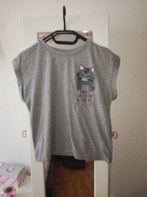Primark Cropped Shirt grey