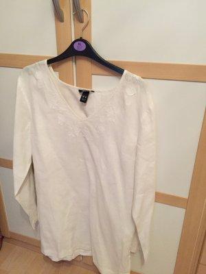 H&M Camisa blanco