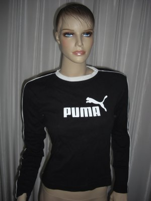Shirt der Kultmarke PUMA 100% ORGINAL Schwarz Gr 38 TIEFPREIS
