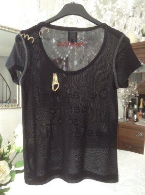 Shirt / Desigual / Ge. 36 S / schwarz-Gold -rot