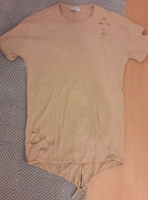 Shirt Distressed Used Look Destroyed Ripped off Oversize