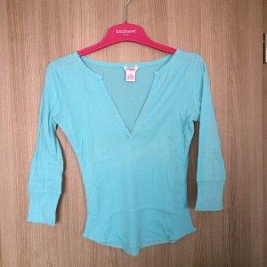 Shirt dreiviertelarm Farbe: Türkis Größe: M Marke: Kenvelo