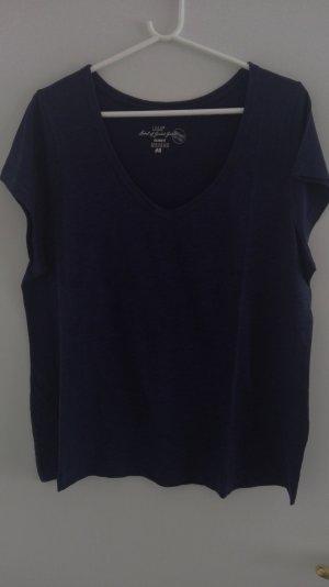 Shirt dunkelblau von H&M LOGG