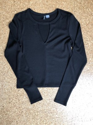 H&M Divided Camicia lunga nero