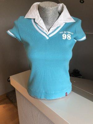 Edc Esprit Shirt white-light blue