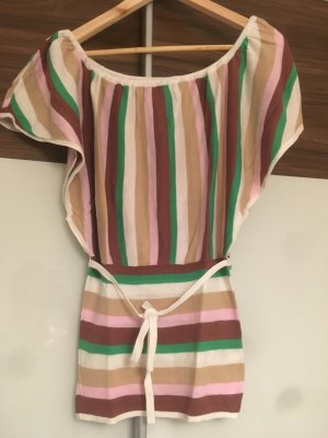 Ichi Crochet Shirt multicolored