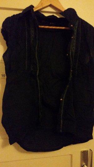 Batik shirt zwart Katoen