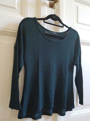 Shirt Feinstrick Oversized Look
