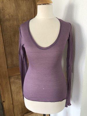 Shirt flieder, Größe S