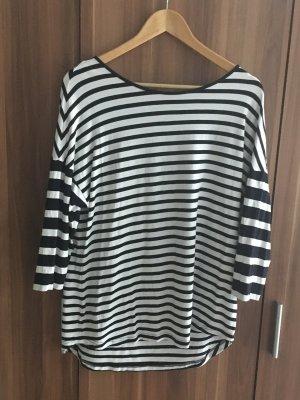 Gerry Weber Gestreept shirt zwart-wit