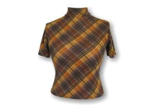 Orsay Turtleneck Shirt orange-brown mixture fibre