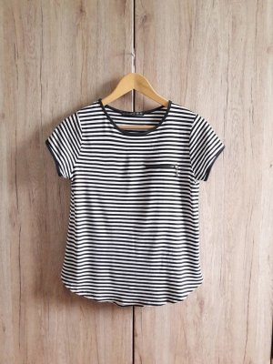 Shirt gestreift schwarz weiß Gr. 34