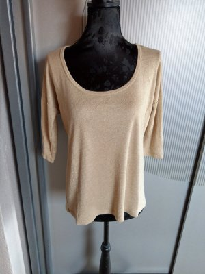 Shirt gold beige Orsay
