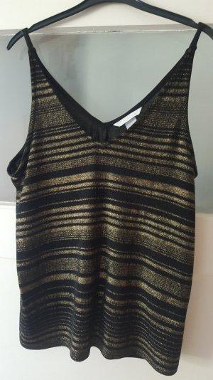 Shirt gold-schwarz von H&M
