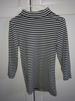 Topshop Sweater zwart-wit