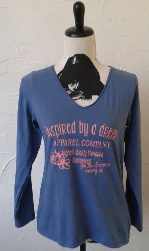 Shirt, gr.40/42, graublau