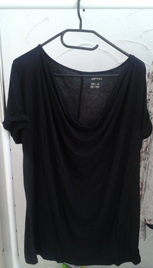 Esmara Cowl-Neck Shirt black