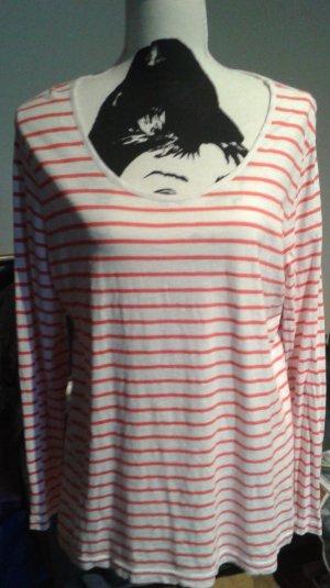 Gina Benotti T-shirt rayé blanc-rouge