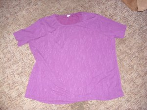 Camisa violeta oscuro Poliéster