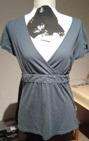 Shirt Gr.L, blaugrau