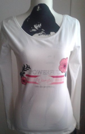 Orsay Camisa batik blanco