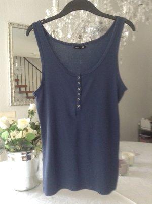 Shirt / grau-blau / Gr. M