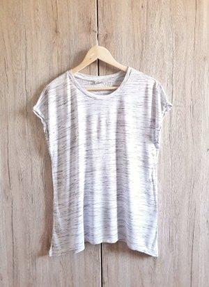 Shirt grau weiß meliert Gr. S