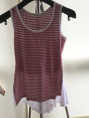 Shirt, Größe 36 von Nice Connection in rot-weiß gestreift