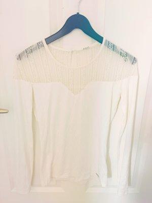 Guess Mesh Shirt natural white-cream
