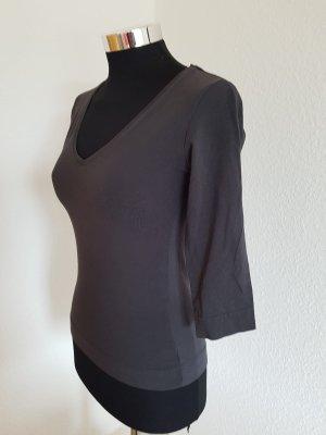 Shirt H&M  Größe XS dunkelgrau mit 3/4 Ärmel
