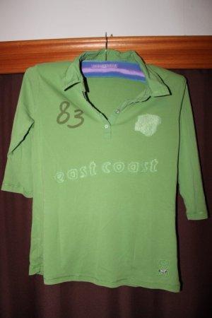 Shirt halbarm mit Kragen, sattes Grün, Street One