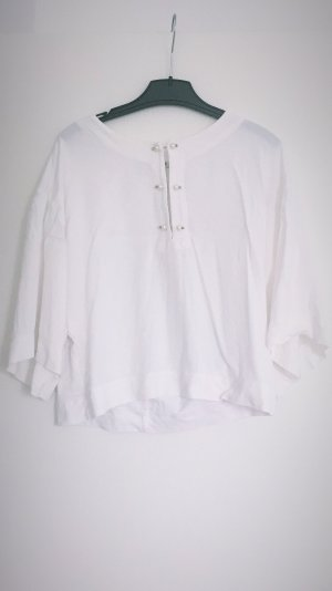 Zara Short Sleeve Shirt white