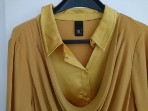Best Connections Long Sleeve Blouse gold-colored polyester