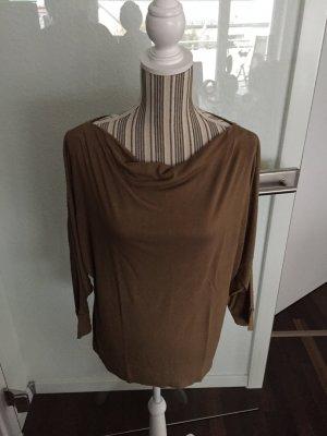 Shirt in beige / cognac von Esprit