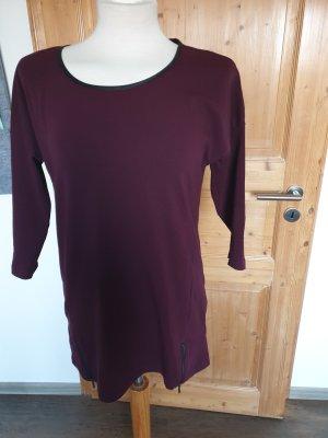 Shirt in bordauxe