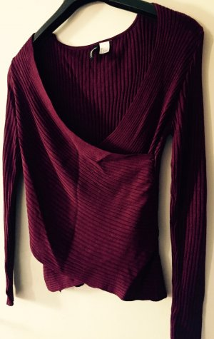 Shirt in Bordeaux von H&M