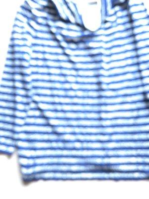 Shirt in dunkelblau gestreift Gr44