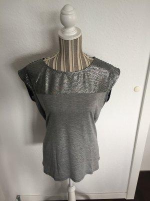 Shirt in grau metallic von Esprit
