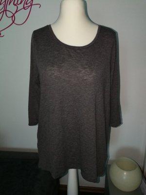 Shirt in grau mit dreiviertel Arm der Marke Only in der Größe L